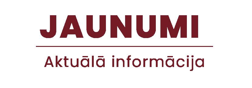 Jaunumi (aktuālā informācija)